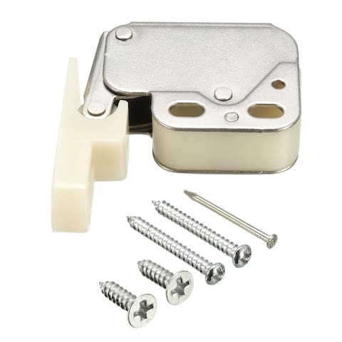 Cabinet Cupboard Spring Press Open Door Catch Tip Touch Push Latch Stops - 1 Pieces