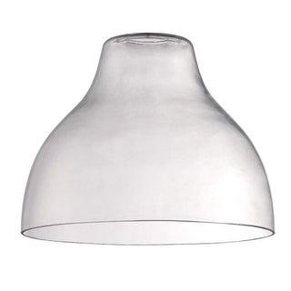 """Jeremiah Lighting N552 7.9"""" x 10"""" Bell Glass Pendant Shade for Medium (E26) Base"""