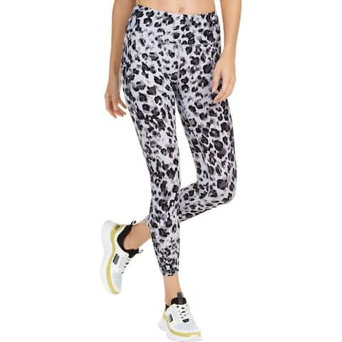 Calvin Klein Performance Womens Athletic Leggings High-Waist Fitness