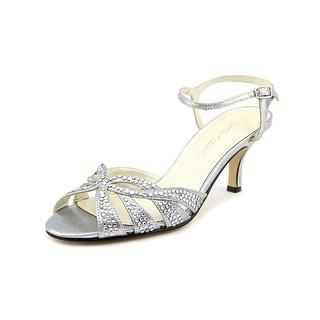 Caparros Heirloom Peep-Toe Synthetic Heels