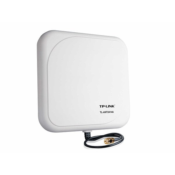 Tp-Link 2.4Ghz 14Dbi Outdoor Directional Antenna, Rp-Sma Male Connector, 1M/3Ft Cable (Tl-Ant2414a)