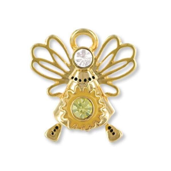 Ddi Wings And Wishes Angel Of Sunshine Pins (pack Of 28)