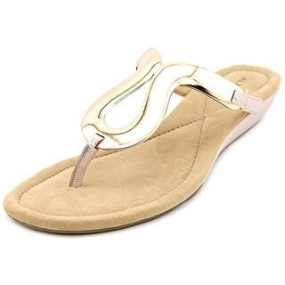 Alfani Womens Farynn Open Toe Casual T-Strap Sandals