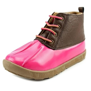 Natural Steps Ricki Youth Round Toe Synthetic Pink Rain Boot