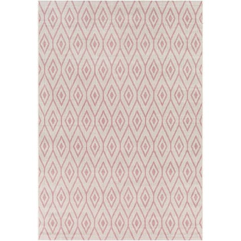 Barb Indoor/ Outdoor Diamond Trellis Area Rug
