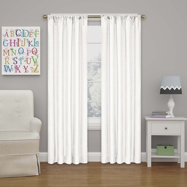 Eclipse Kids Kendall Blackout Window Curtain Panel. Opens flyout.