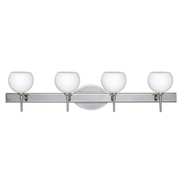 Besa Lighting SW Palla Light Reversible Halogen Bathroom - Halogen bathroom vanity lights