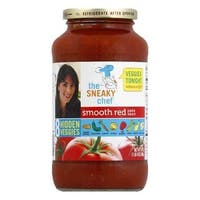 Sneaky Chef Pasta Sauce - Smooth Red - Case of 12 - 24 oz.