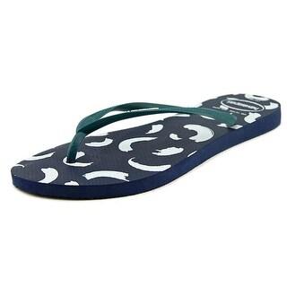 Havaianas Slim Swirl Open Toe Synthetic Flip Flop Sandal