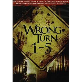 Wrong Turn 1-5 [DVD]
