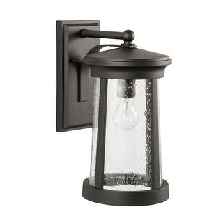 "Park Harbor PHEL3102 Woodberry 16"" Tall Single Light Outdoor Wall Sconce (Option: Espresso Finish)"
