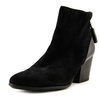 Paul Green Sam   Round Toe Suede  Ankle Boot