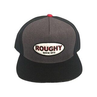 HOOey Hat Mens Baseball HOOey Roughy Patch One Size Black - gray