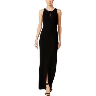 Dress for Women, Evening Cocktail Party On Sale, Ivory, Viscose, 2017, 10 8 Calvin Klein