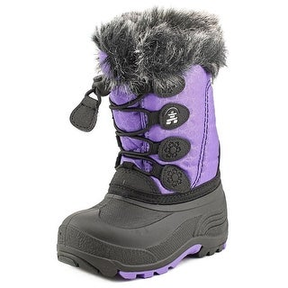 Kamik Snow Gypsy   Round Toe Canvas  Winter Boot