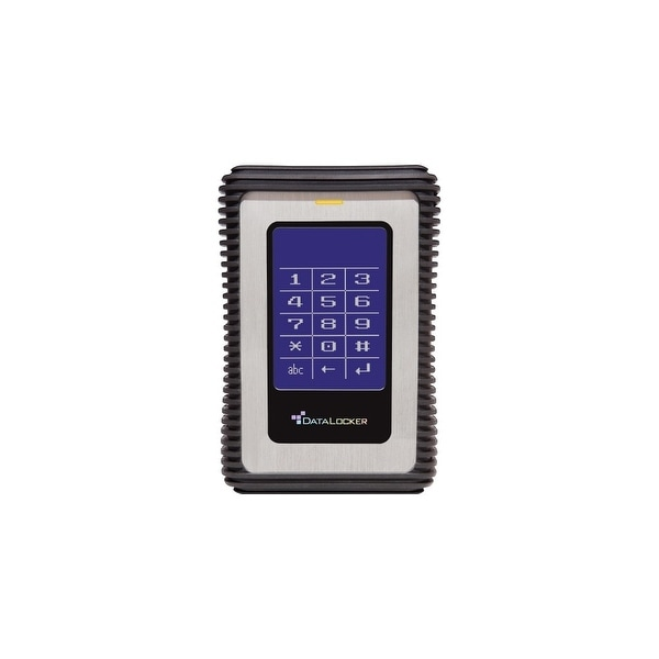 DataLocker DL500V3 DataLocker DL3 500 GB Encrypted External Hard Drive - USB 3.0 External HDD with AES XTS Mode Hardware Data