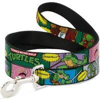 Dog Leash - Classic Teenage Mutant Ninja Turtles Character Comic Scenes
