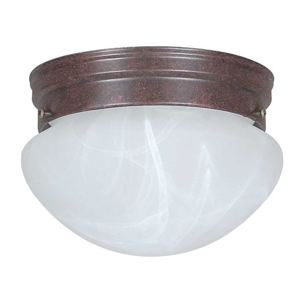 "Sunset Lighting F3283 1-Light 60 Watt 8"" Wide Flush Mount Ceiling Fixture - n/a"