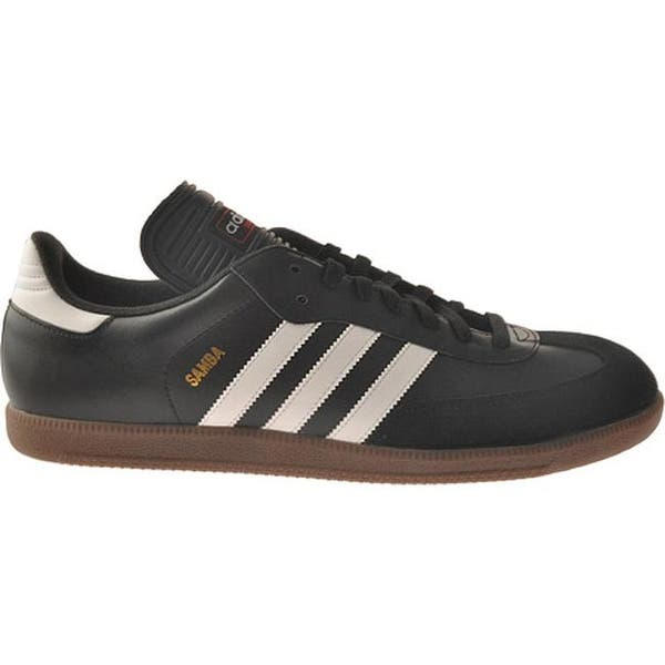 Spectacle Friday operation  Shop adidas Men's Samba Classic Black/Running White - Overstock - 22879183