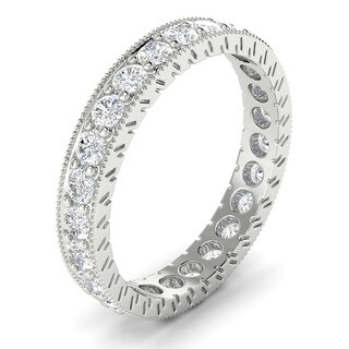 14KT Gold Round Cut Diamond Curved Wedding Ring 1.50 CTW