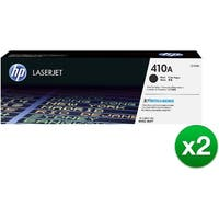 HP 410A Black Original LaserJet Toner Cartridge (CF410A)(2-Pack)