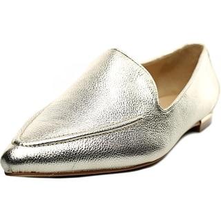 Ivanka Trump Zariner Women Pointed Toe Leather Gold Flats