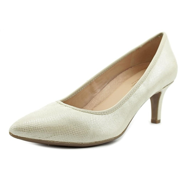 Naturalizer Oath Women Taupe/Print Snake Pumps