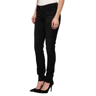 Big Star Women's 1974 Alex Skinny Mid Rise Petite Black Size 26 Jeans