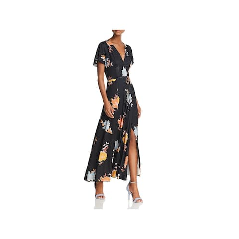 69b922cefec French Connection Womens Maxi Dress Floral Full-Length - 6
