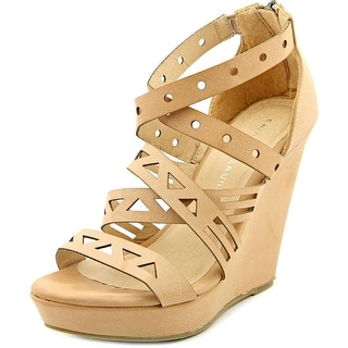 Chinese Laundry Z-Madia Women Open Toe Synthetic Wedge Sandal