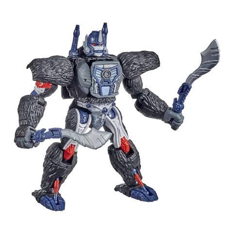 "Transformers War for Cybertron Kingdom Optimus Primal Action Figure - 7 """