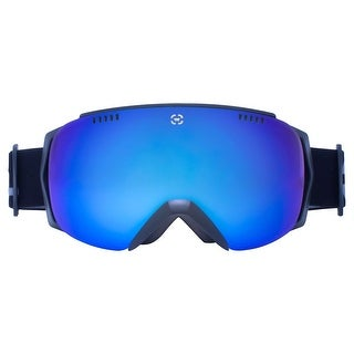 Winterial Black Ski Goggles, Ski, Snowboard, Snowmobile Goggles All Mountain, UV Protection, Black