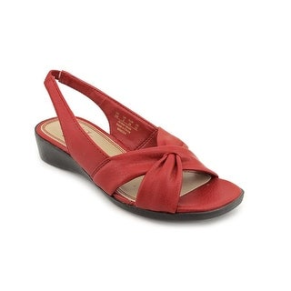 Life Stride Mimosa Women Open-Toe Synthetic Red Slingback Sandal