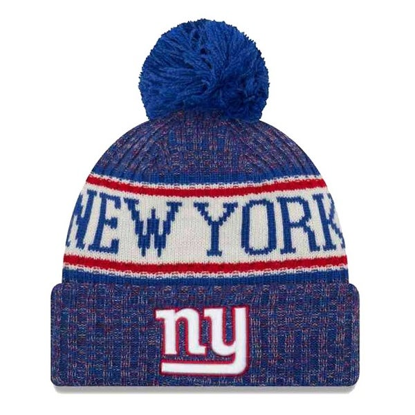 Shop New Era 2018 NFL New York Giants Sport Stocking Knit Hat Winter Beanie  11768175 - Free Shipping On Orders Over  45 - Overstock.com - 23042874 55b35d827