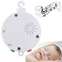 Image Baby Musical Mobile for Crib Battery-operated Music Box w/ 12 Tunes Pass CE/RoHs Standard