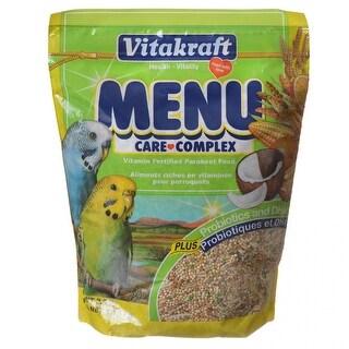 Vitakraft Menu Care Complex Parakeet Food 2.5 lbs