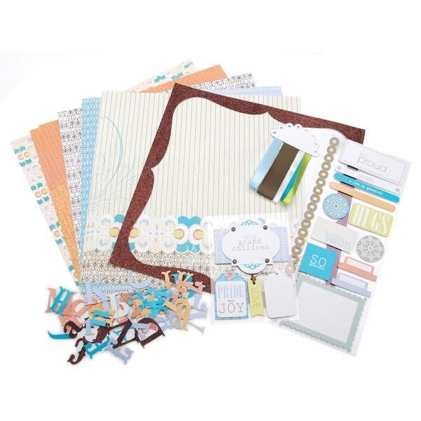 "Me & My Big Ideas Page Kit 12""X12""-My Grandchildren"