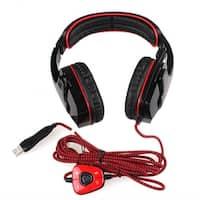 Stereo 7.1 Surround LOL Headset SA-901 USB Headband PC Pro Gamers 2 Color