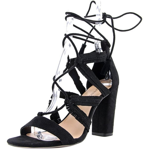 Call It Spring Veriri Women Open Toe Synthetic Black Sandals