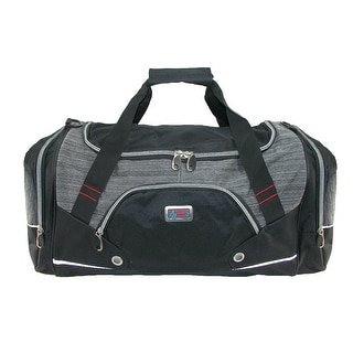 The American Outdoorsman Men's AO Challenger Gym Duffle Bag - Black