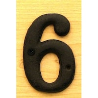 Solid Cast Iron Number 6