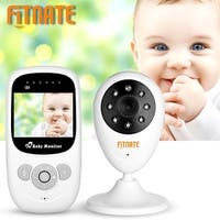 "Fitnate 2.4""LCD Wireless Digital Video Baby Monitor Camera Night Vision Audio"
