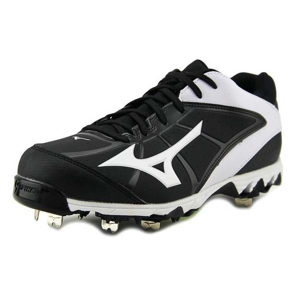 Mizuno 9-Spike Swift 4 Women Round Toe Synthetic Black Cleats
