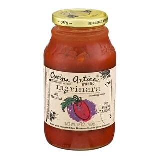 Cucina Antica Foods - Garlic Marinara Sauce ( 12 - 25 oz jars)