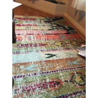 Safavieh Monaco Vintage Bohemian Multicolored Distressed Rug - 8' X 11'