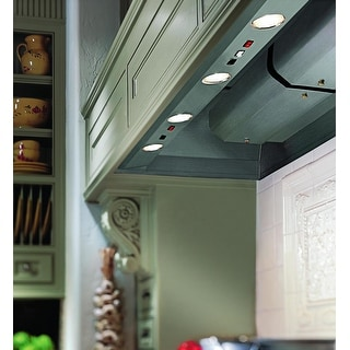 """Vent-A-Hood BH446PSLB  48"""" BHPSLD 1200 CFM Wall Mounted Liner Insert with Dual Blowers and LED Lights - Stainless Steel"""