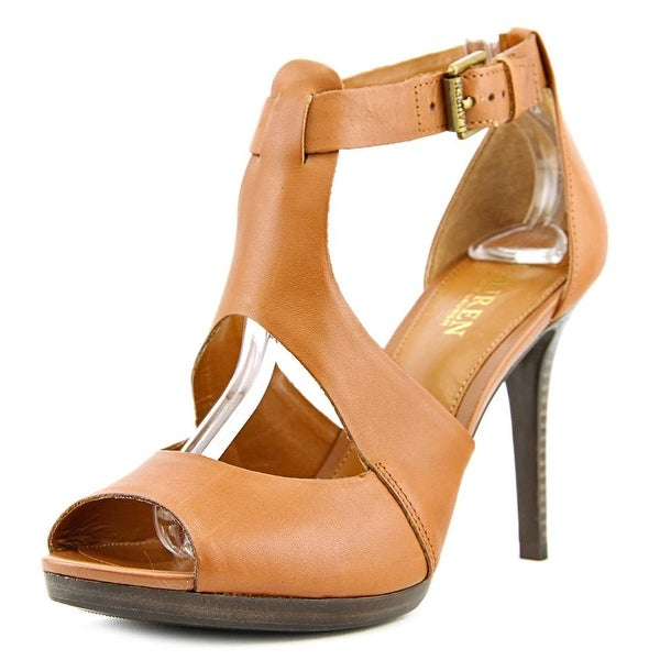2689e0a6c89c0b Shop Lauren Ralph Lauren Beth Women Open Toe Leather Sandals - Free ...