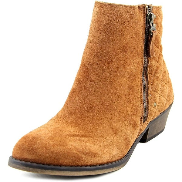 White Mountain Jodi Round Toe Suede Boot