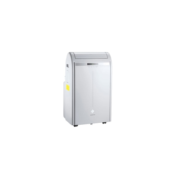 EdgeStar AP16000G 16000 BTU 220V Portable Single Hose Air Conditioner with Remote Control and Window Mounting Kit - Grey - N/A