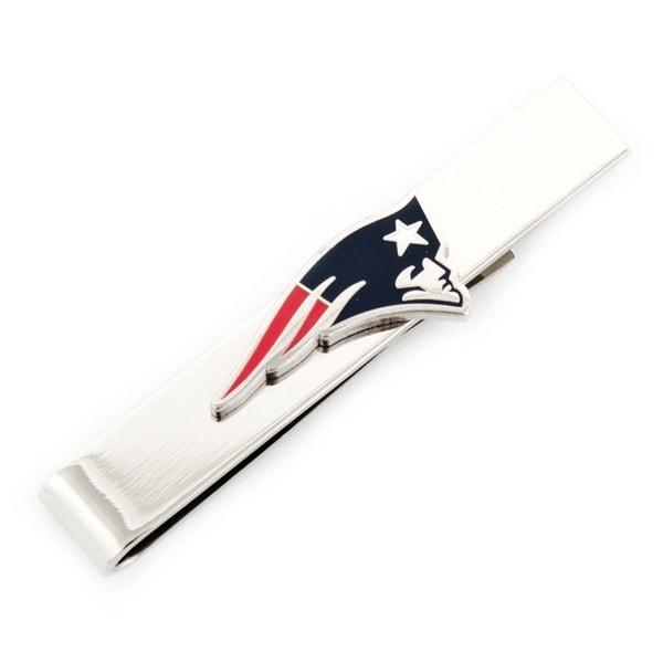 New England Patriots Tie Bar - Silver